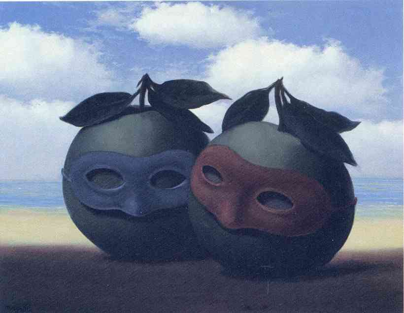 The Hesitation Waltz, de René Magritte