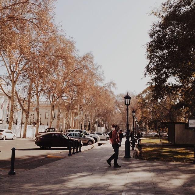 Pracinha em Mendoza